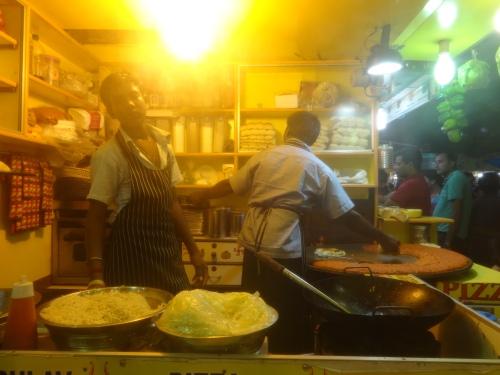 Pavbhaji stall