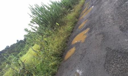 Pothole on Road