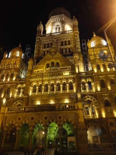 Municipal Corporation Building at Night