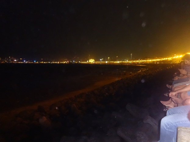 Queen's necklace at Marine Drive