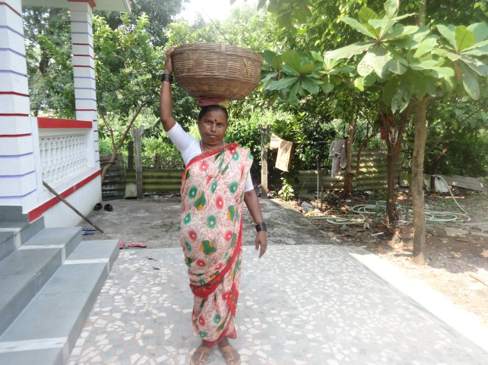 Picture of Goan Fisherwoman.