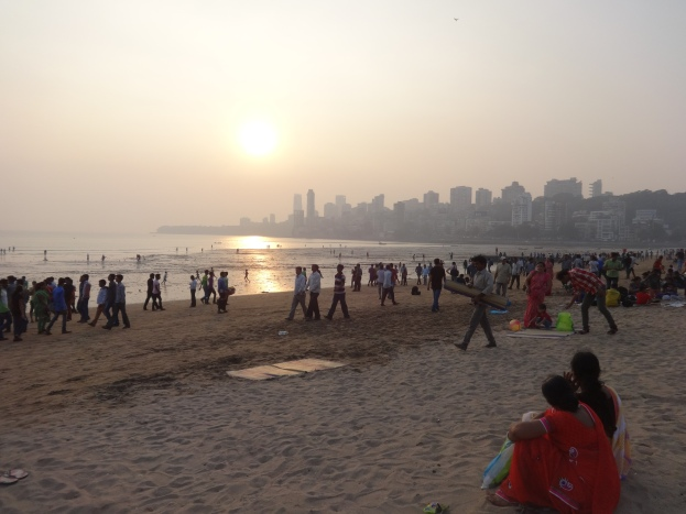 Sunset at Girgaon Chowpatty