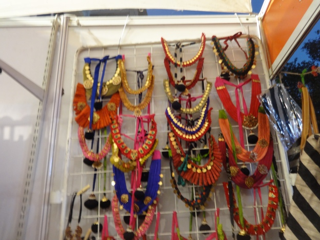 Colorful jewelries
