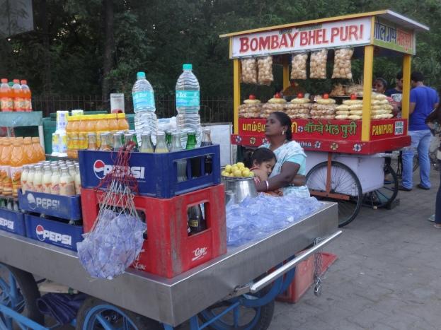 Bombay bhel puri in Chennai :)