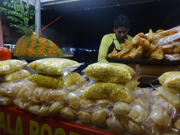 Snacks stall