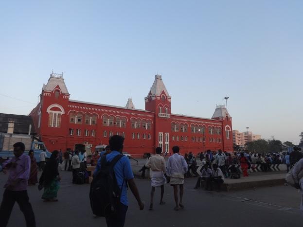 Chennai railway station