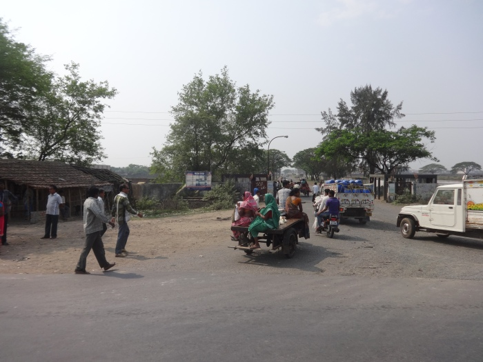 Villagers and their mode of transports