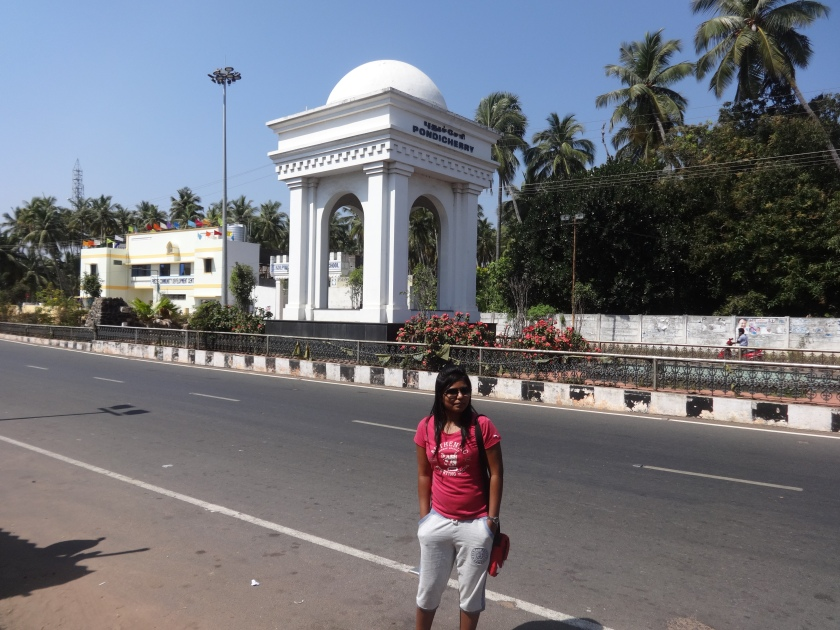 Pondicherry Entrance
