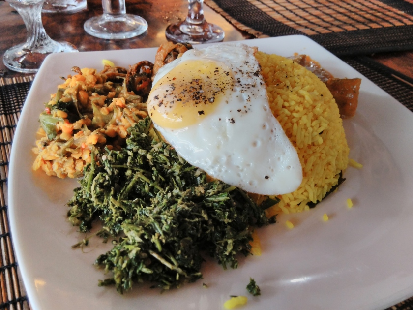 Sri Lankan Food - Rice & curry