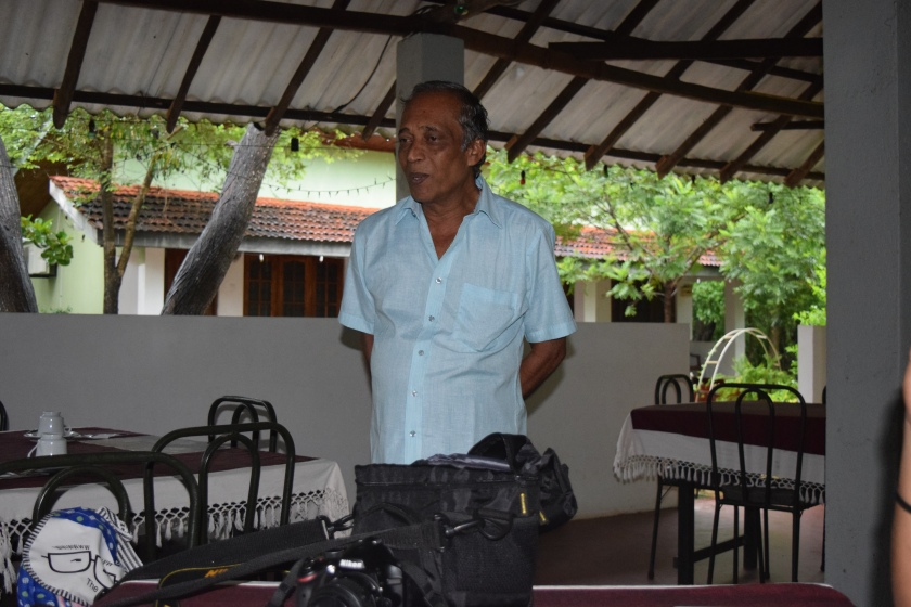 Our host in Sigiriya