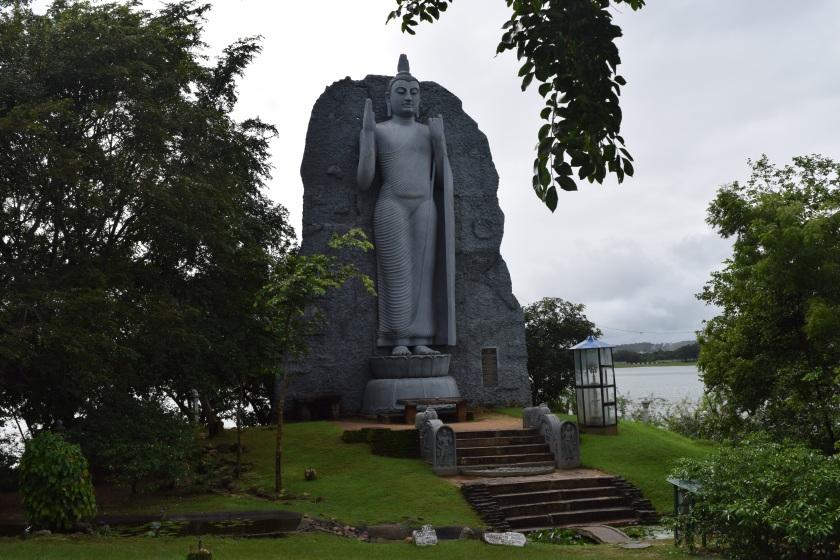 Buddha's standing statue