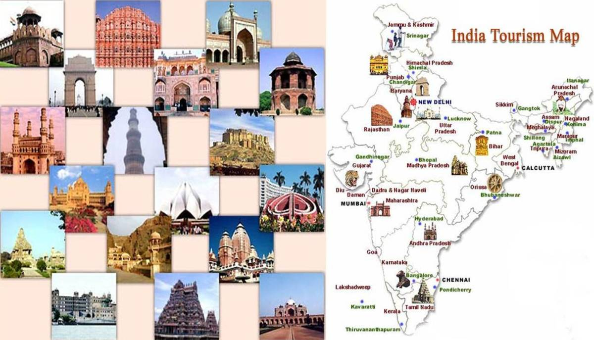 100 Places To Visit In India