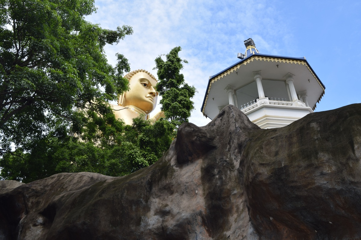 The Golden Temple of Dambulla, Sri Lanka